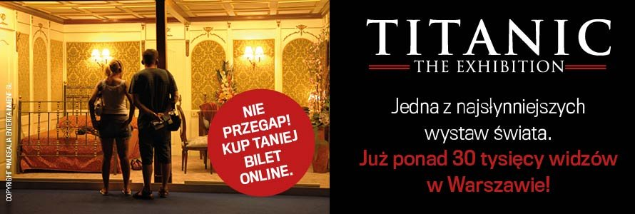 Titanic. The Exhibition / Materiały promocyjne