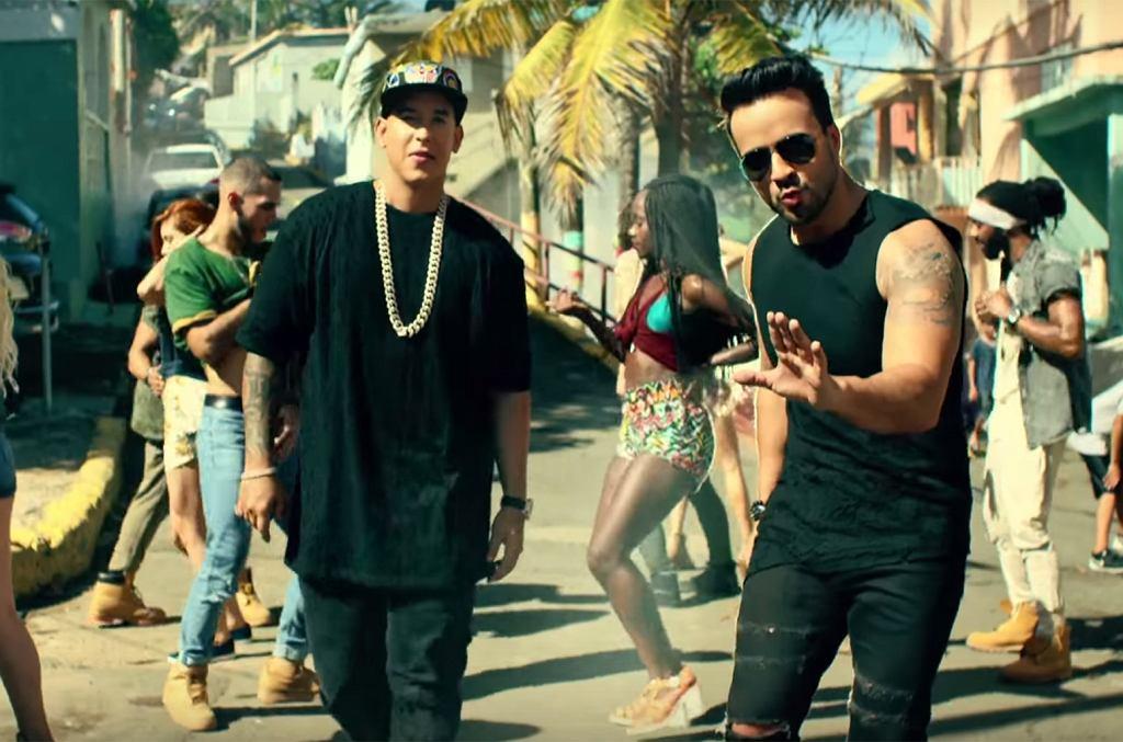 Luis Fonsi i Daddy Yankee na planie wideoklipu 'Despacito'