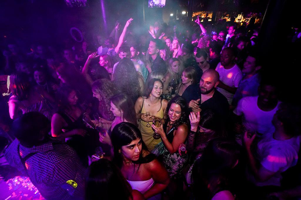 Impreza w londyńskim klubie