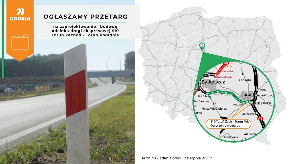 S10, Bydgoszcz - Toruń