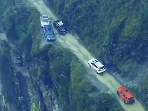Droga Śmierci w Boliwii