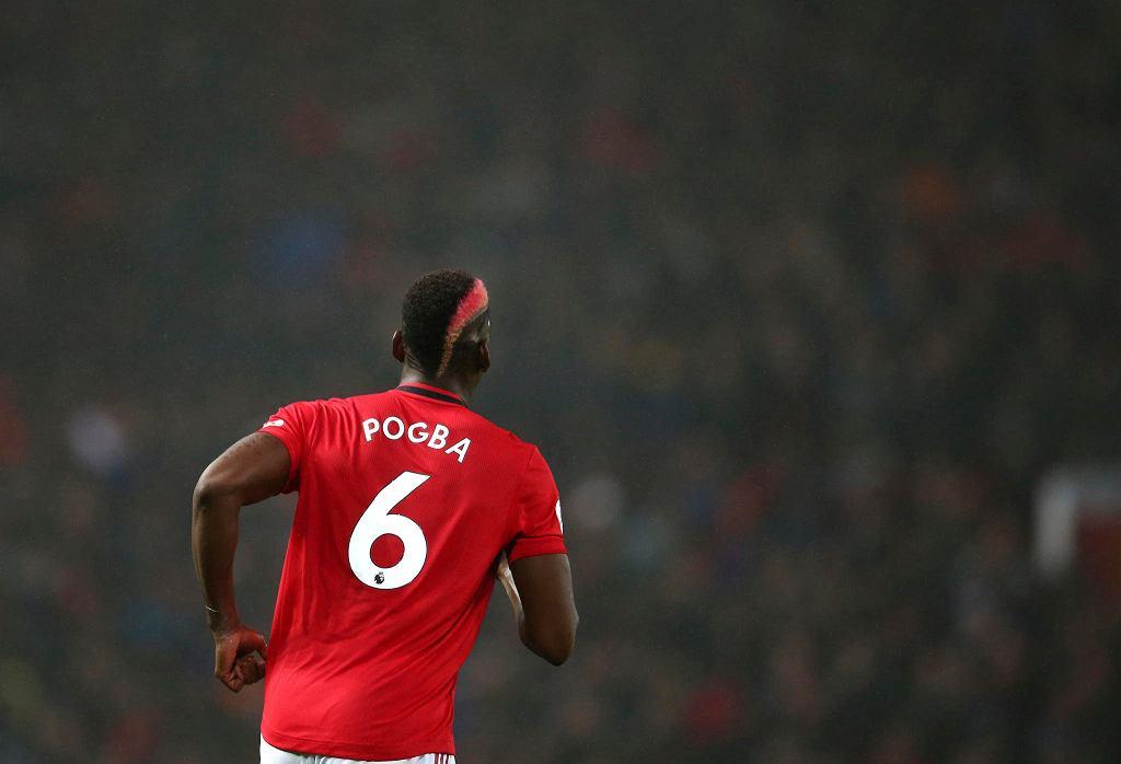 Paul Pogba w barwach Manchesteru United