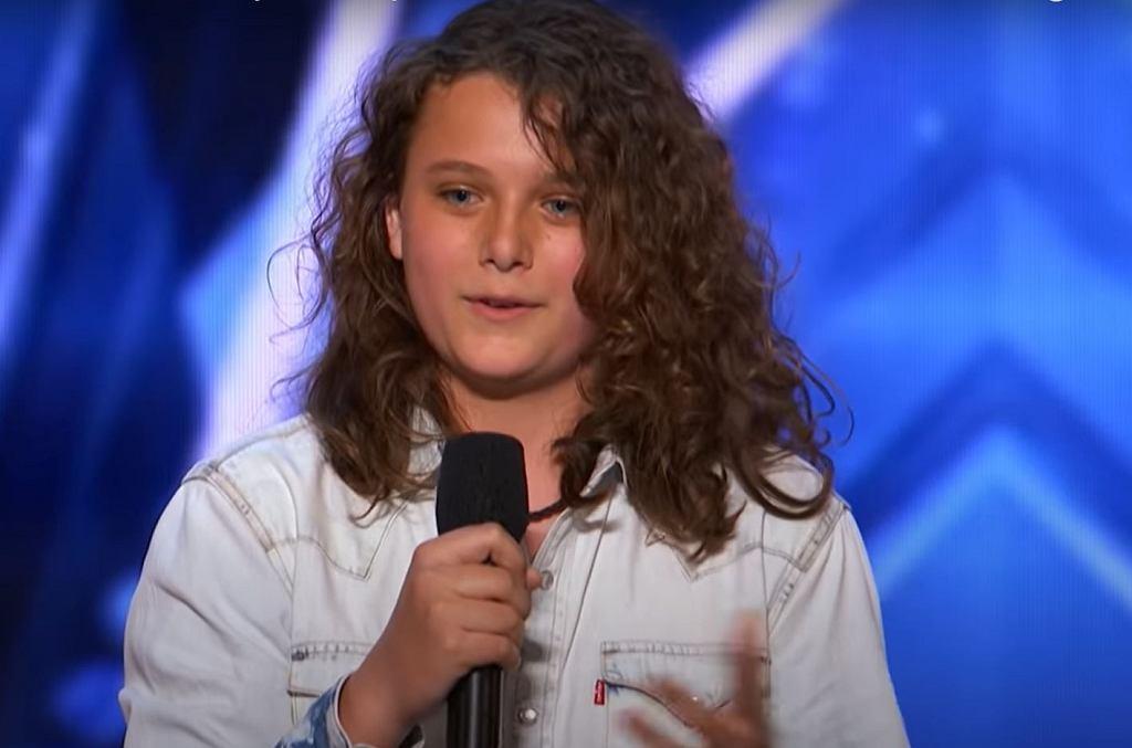 Dylan Zangwil w 'America's Got Talent'