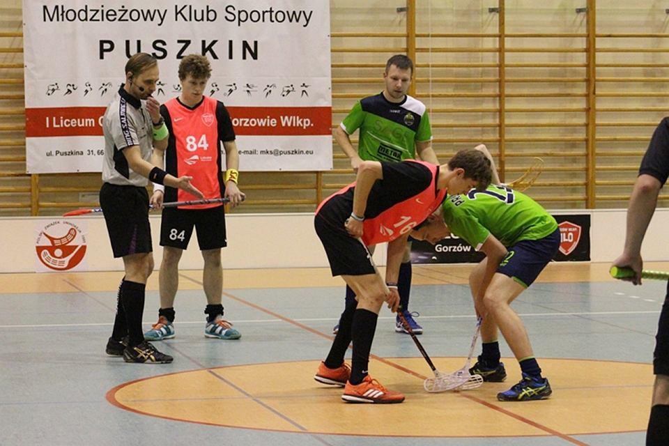 I LO UKS Floorball Gorzów walczy w Salming Ekstralidze Mężczyzn