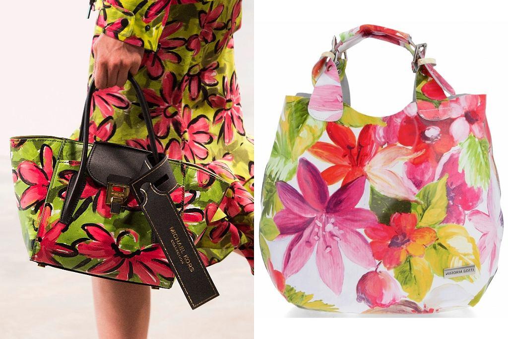 shoppery w kwiaty