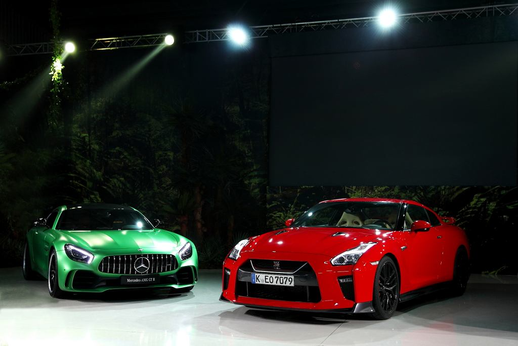 AMG GT R vs. Nissan GT-R