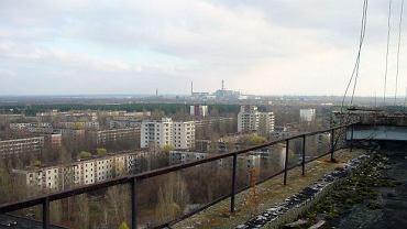 Opuszczona elektrownia w Czarnobylu