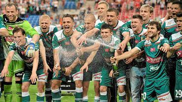 Radośc Śląska po zdobyciu mistrzostwa Polski