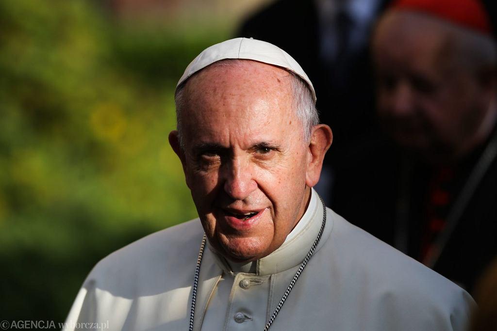 Papież Franciszek na Światowych Dniach Młodzieży w Krakowie (fot. Jakub Porzycki/AG)