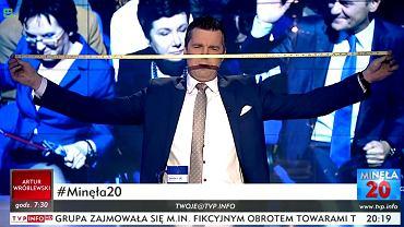 Michał Rachoń w 'Minęła 20' 04.04.2018