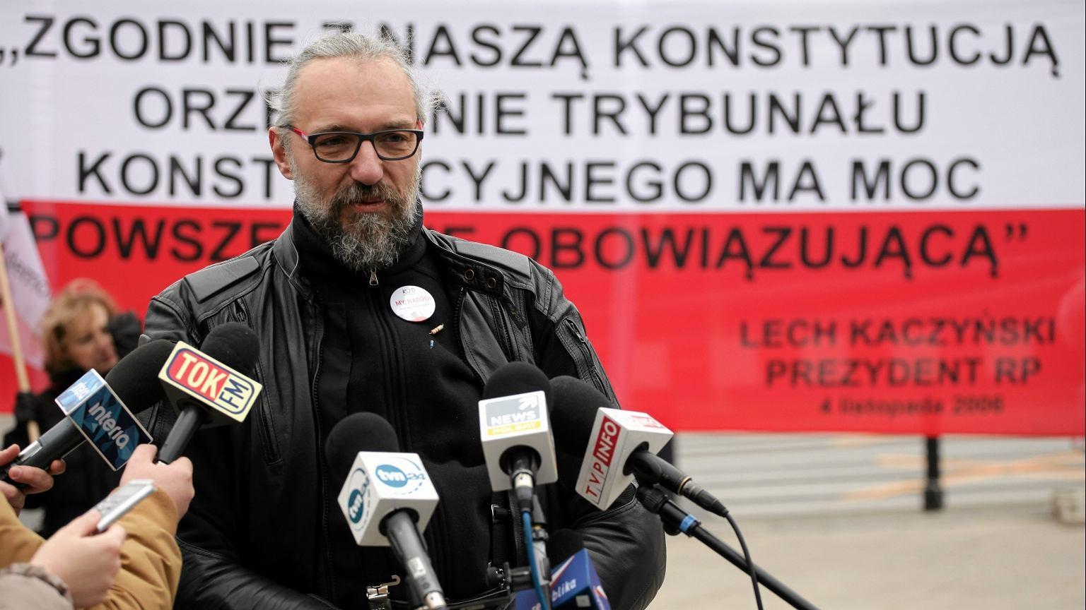 Mateusz Kijowski (fot. Sławomir Kamiński/AG)