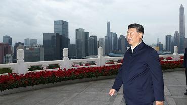 Xi Jinping, przywódca Chin w Shenzhen.