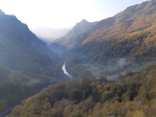 Kanion rzeki Tary to jedno z najbardziej majestatycznych miejsc w Czarnogórze