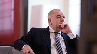 Minister aktywów państwowych w rządzie PiS Jacek Sasin (70 mln złotych na wybory, które się nie odbyły...). Warszawa, 10 marca 2020