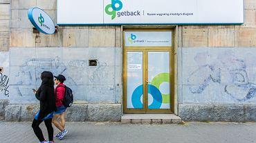 Oddział firmy Get Back przy alei Solidarności 127 w Warszawie