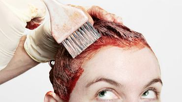 Farba do włosów - wywabianie i zmywanie
