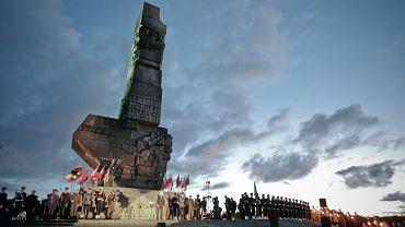 Rok 2008. Uroczystości na Westerplatte w 69. rocznicę wybuchu II wojny światowej