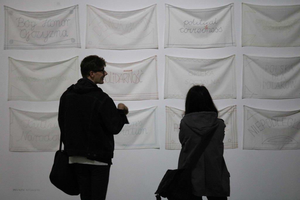 Wystawa 'DE - MO - KRA - CJA' / Fot. Diana Kołczewska