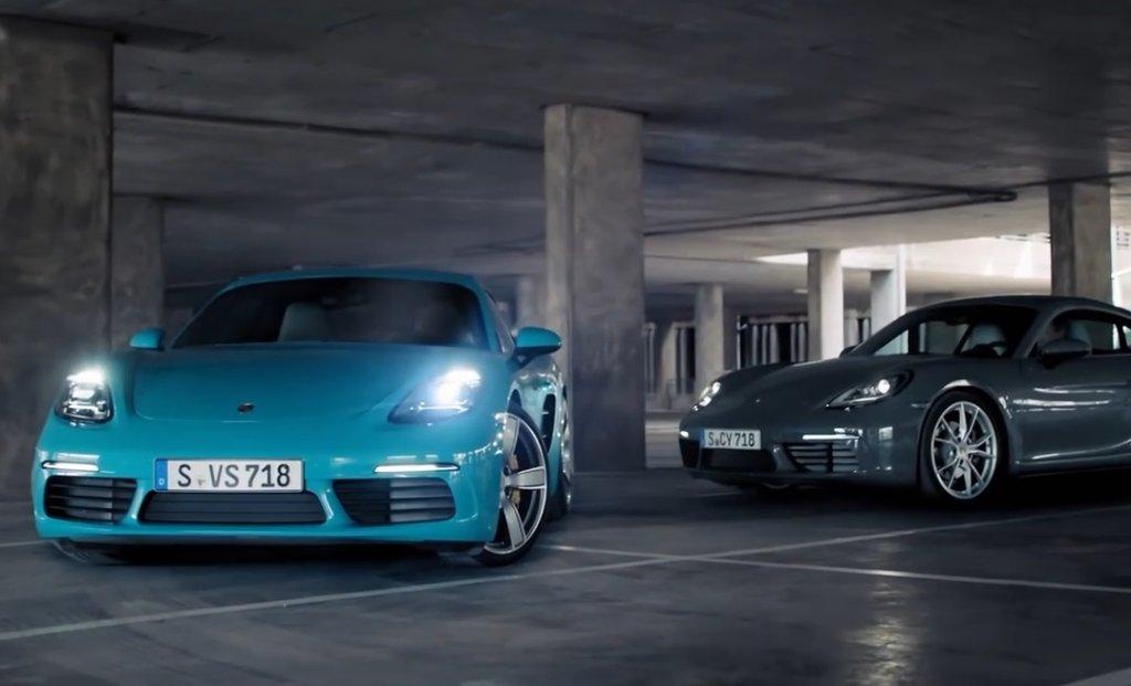 Porsche Cayman | Nocne szaleństwo
