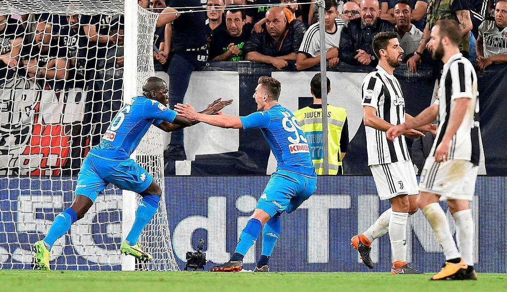 Kaliodou Koulibaly i Arkadiusz Milik. Juventus-Napoli