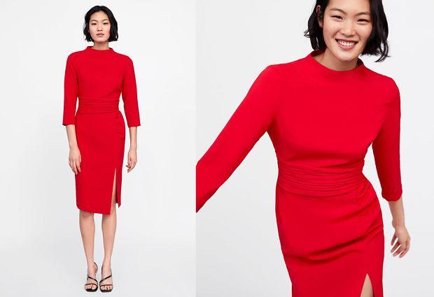 Sukienka Zara na walentynki