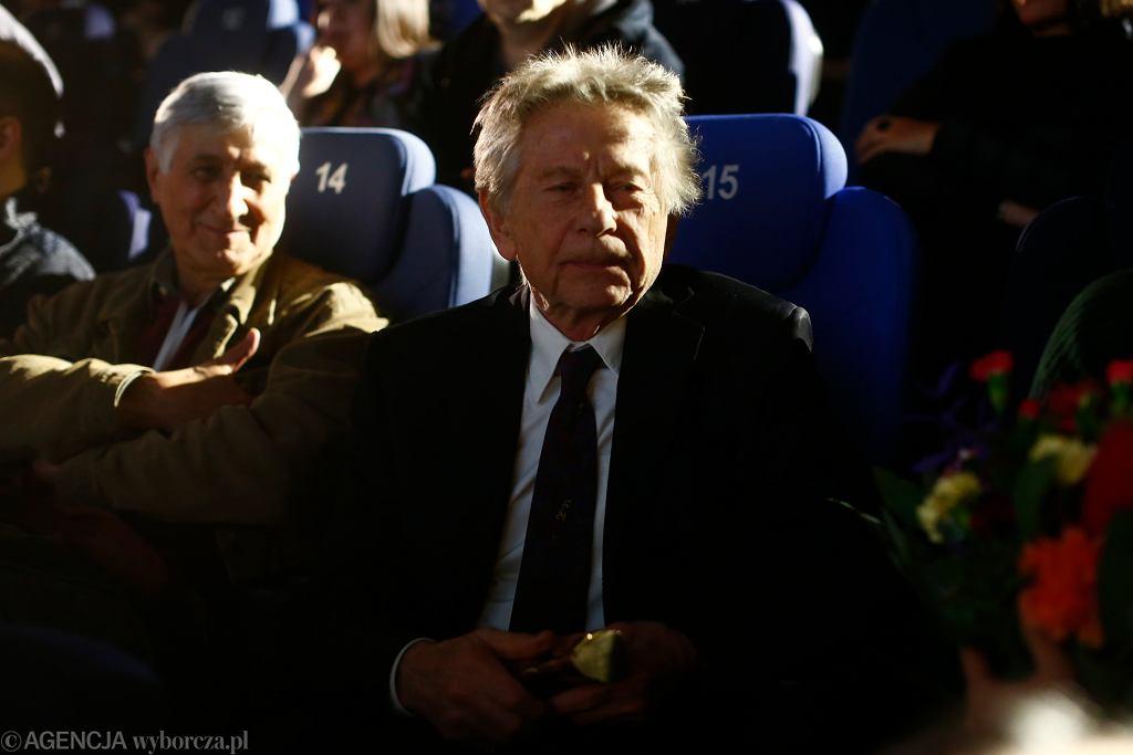 Roman Polański na gali zamknięcia 24. Forum Kina Europejskiego Cinergia w Łodzi.