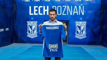 Maciej Makuszewski oficjalnie wypożyczony do Lecha Poznań