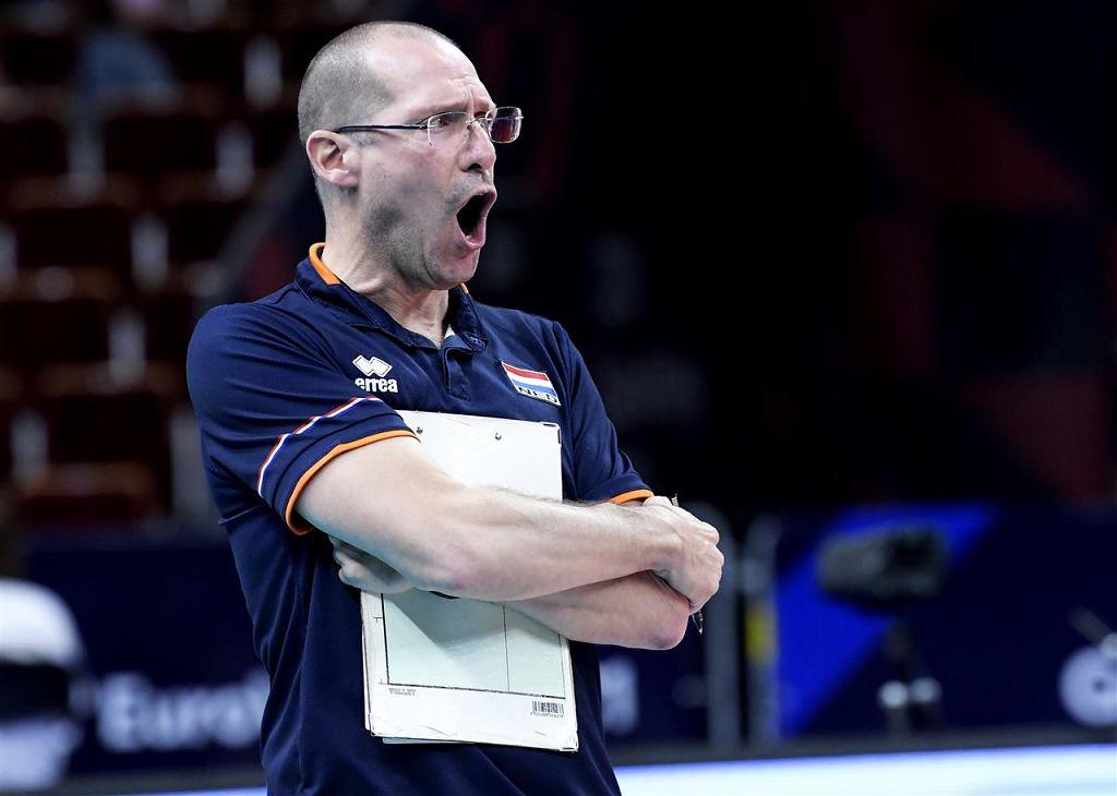 Holandia - Portugalia, siatkówka, mistrzostwa Europy