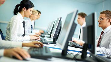 Pracownicy biurowi (zdjęcie ilustracyjne)