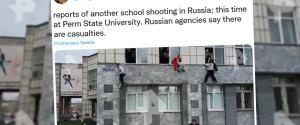 Rosja. Strzelanina na uniwersytecie. Studenci wyskakiwali przez okna, są ofiary śmiertelne