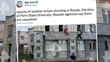 Rosja. Strzelanina na uniwersytecie