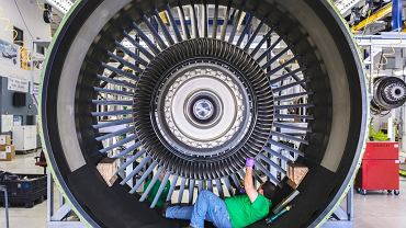 Silnik samolotowy GE