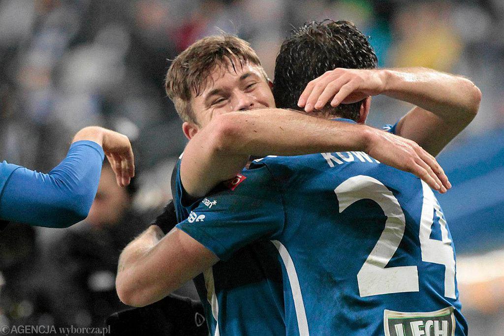 Lech Poznań - Wisła Kraków 2:0. Karol Linetty