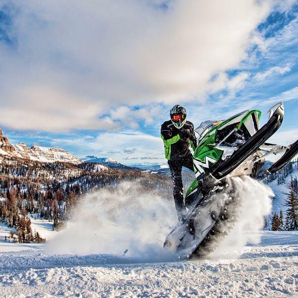 Ujeżdżanie śnieżnych smoków