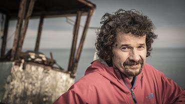 Tomasz Konecki na planie filmu 'Całe szczęście', lato 2018 r.