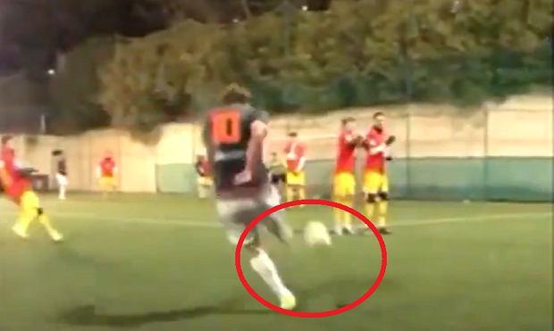 Fenomenalny gol Francesco Tottiego! To po prostu trzeba zobaczyć [WIDEO]