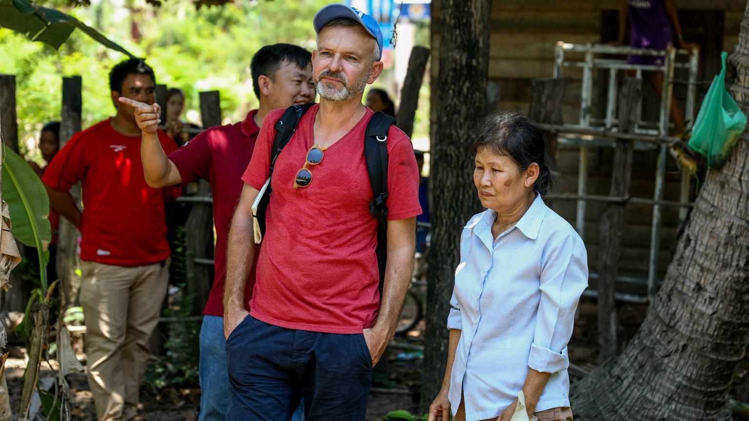 Wojciech Tochman w Kambodży