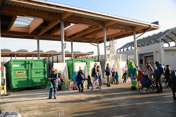 Ekoport przy ul. Taczaka w dniu otwarcia