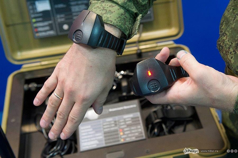Inteligentny zegarek rosyjskiej armii