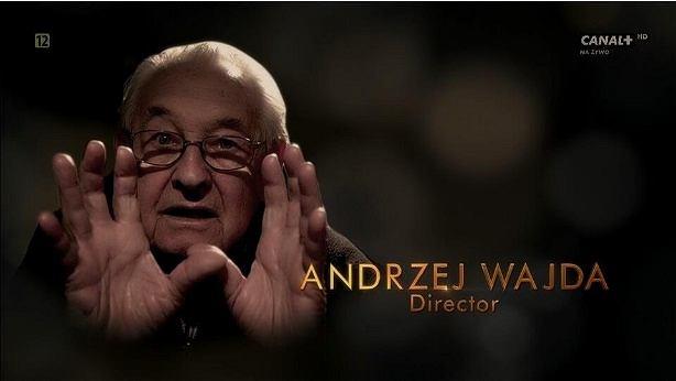 Andrzej Wajda upamiętniony podczas Oscarowej gali