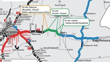A2 Groszki - Gręzów