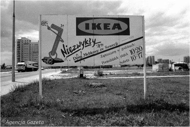 Pierwszy sklep IKEA w Warszawie otwarto na Ursynowie.