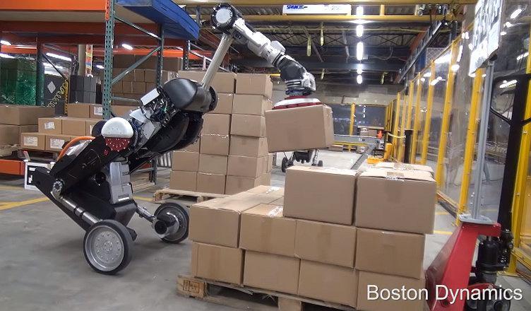 Robot Handle produkcji Boston Dynamics