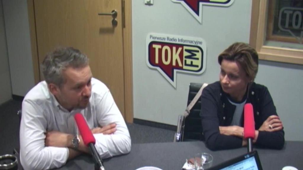 Michał Szułdrzyński i Jolanta Pieńkowska