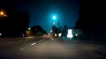 W Stanach Zjednoczonych nocą na niebie pojawił się meteor