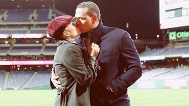 Jennifer Lopez z Alexem Rodriguezem