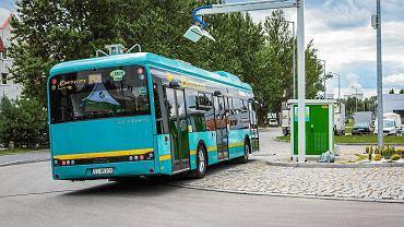 Elektryczny autobus w Jaworznie