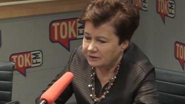 Prezydent Warszawy Hanna Gronkiewicz-Waltz w 'Poranku Radia TOK FM'