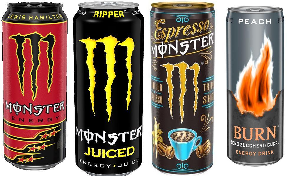 Ostrzeżenie GIS: popularne napoje energetyczne wycofane ze sprzedaży