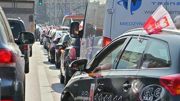 Strajk taksówkarzy